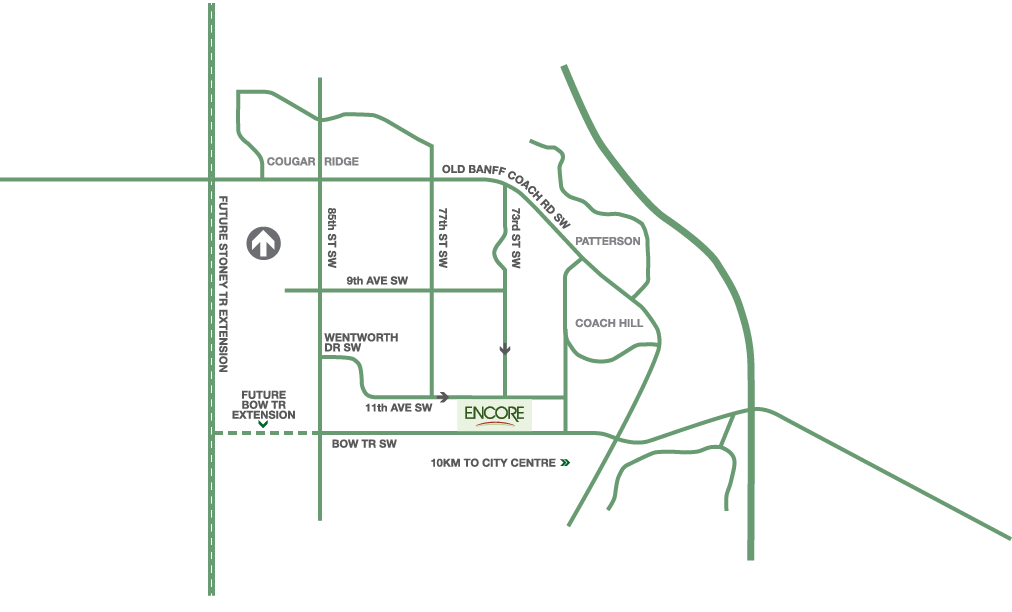 Encore map